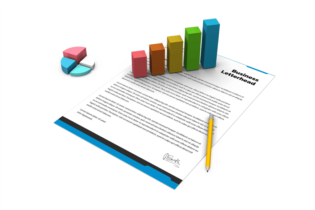 14-business-letterhead-mockup-template-with-3d-graph