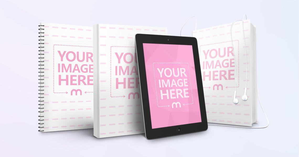 Online Book Cover Mockup Generator