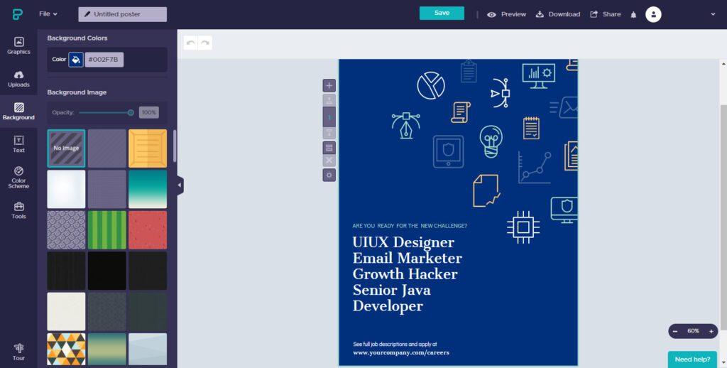 piktochart-online-poster-design-maker