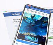 Facebook 3D mockups