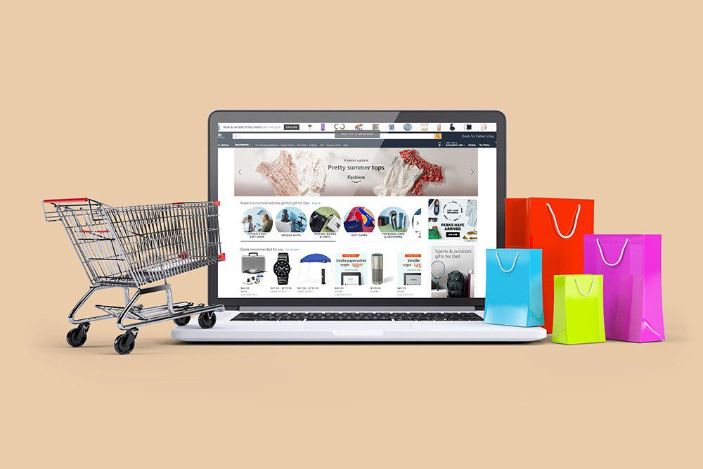 3d-ecommerce-website-mockup-with-cart-and-shopping-bags-free-online-mockup-generator-psd-template