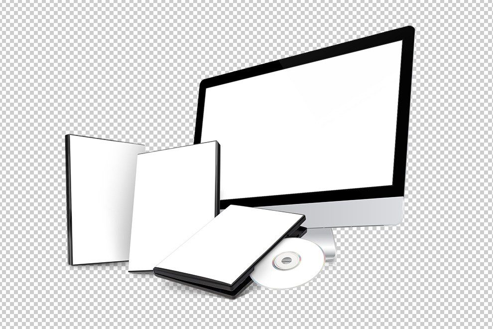 DVD-software-video-course-online-with-disc-and-monitor-mockup-generator-photoshop-template-2-