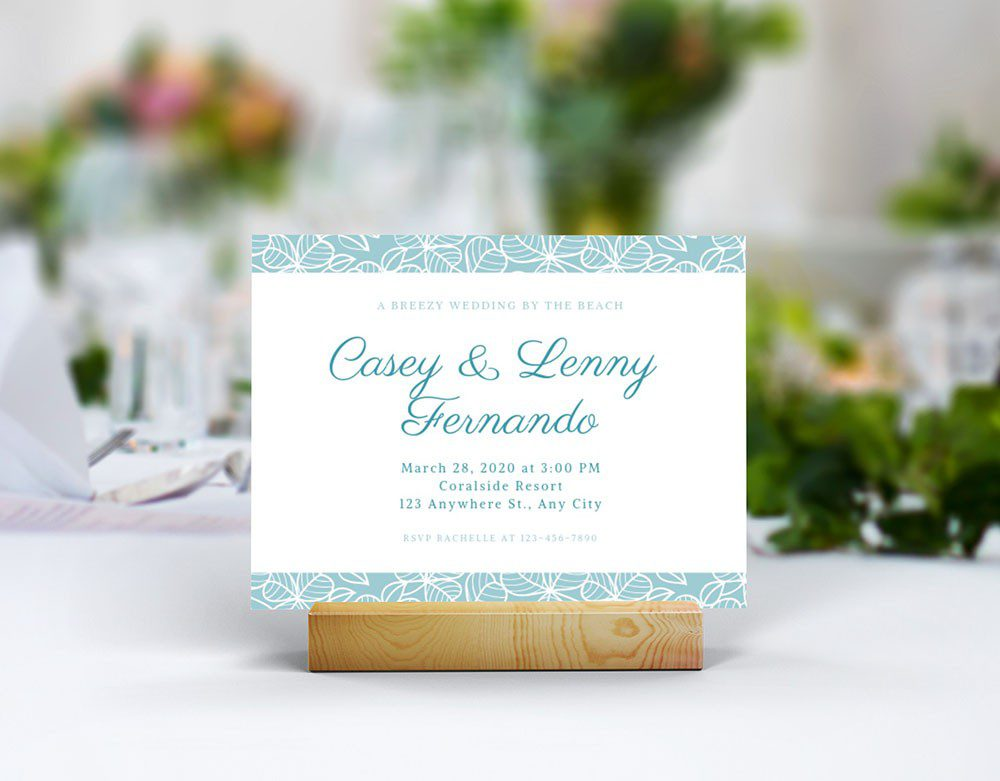 landscape-wedding-card-invitation-table-number-on-wood-card-holder-mockup-generator-photoshop-template