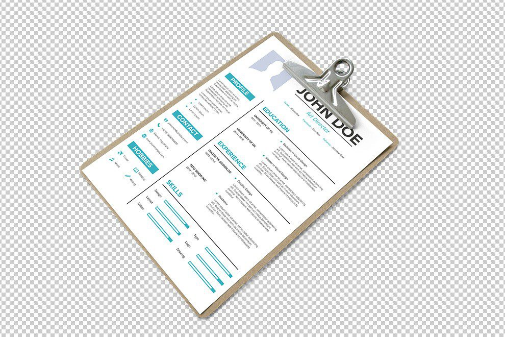 paper-clipboard-isolated-png-resume-a4-paper-cv-mockup-free-online-generator-template