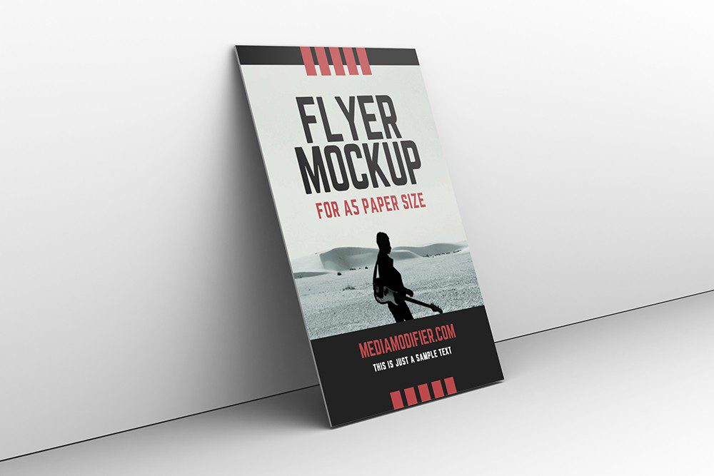 poster-flyer-canvas-3d-leaning-on-a-gray-wall-mockup-generator