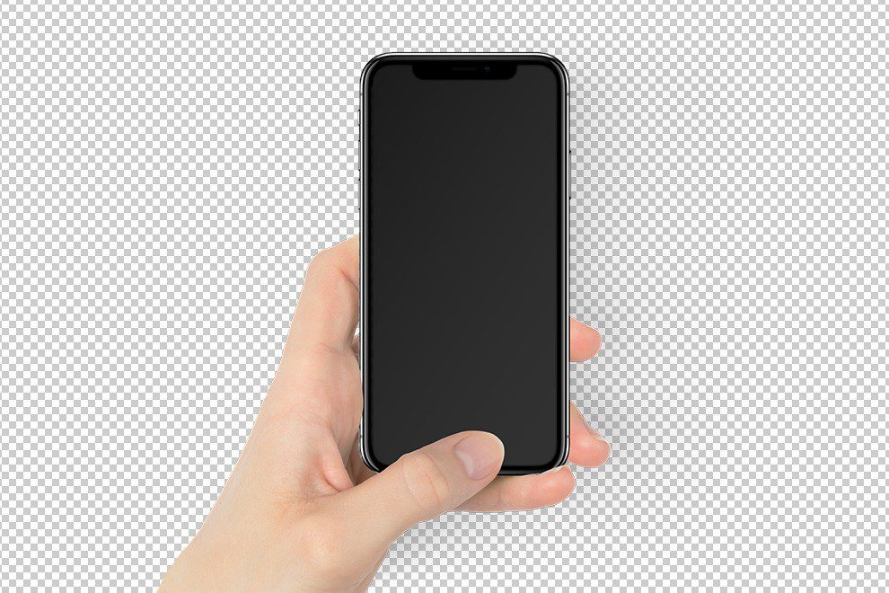 space-gray-iphone-x-in-woman-female-hand-mockup-generator-over-color-PNG-background-photoshop-template-2-