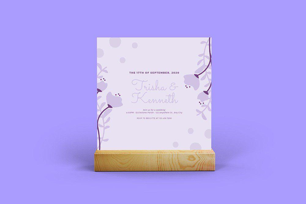 square-postcard-wedding-invitation-on-wood-holder-PNG-mockup-generator-photoshop-template-1-