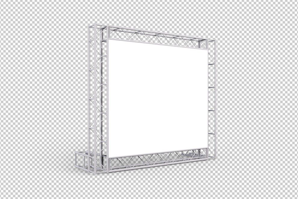 steel-truss-frame-square-billboard-banner-3d-mockup-generator-photoshop-template-PNG-2-