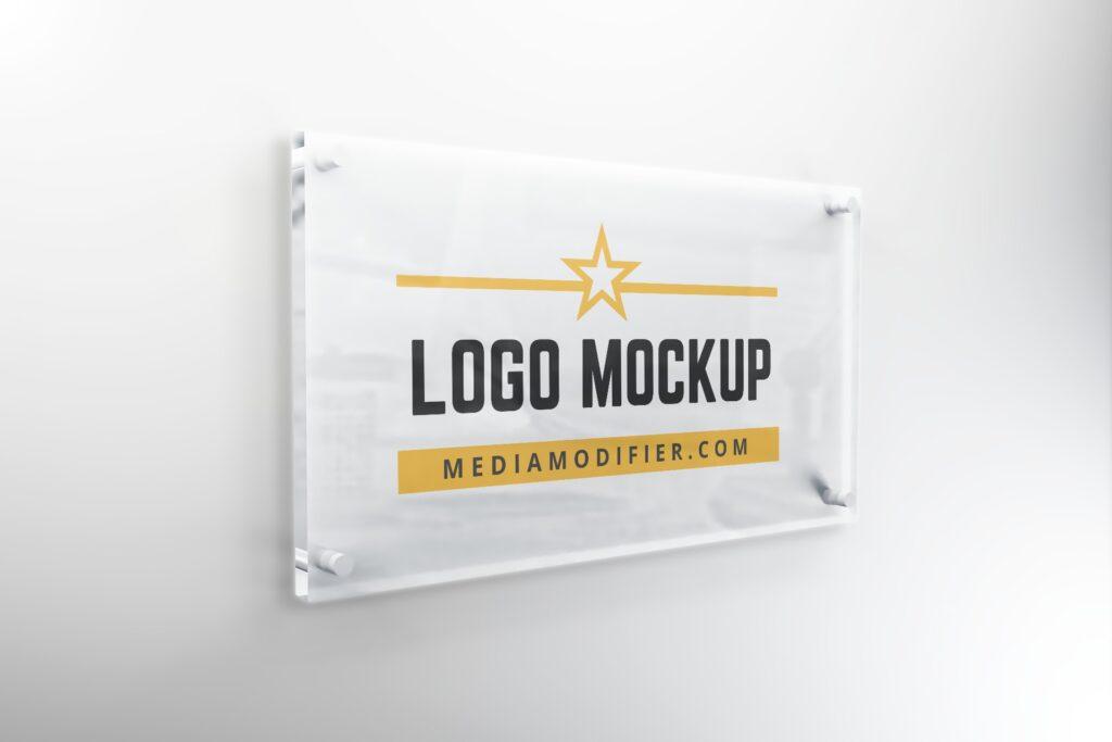 interior-glass-logo-signage-plate-company-logo-mockup-online-generator-template