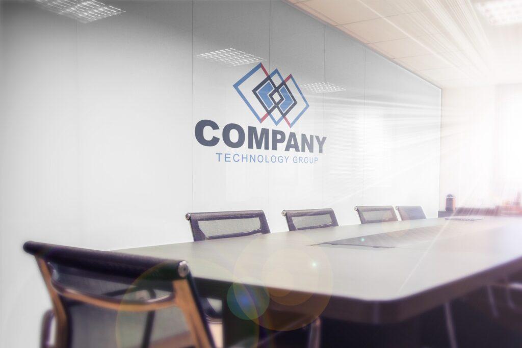 logo-on-office-company-wall-mockup-generator-board-room