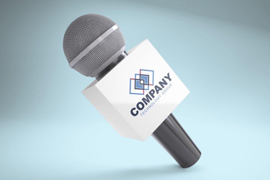 mic-microphone-flag-banner-tv-logo-channel-mockup-generator-online-3D