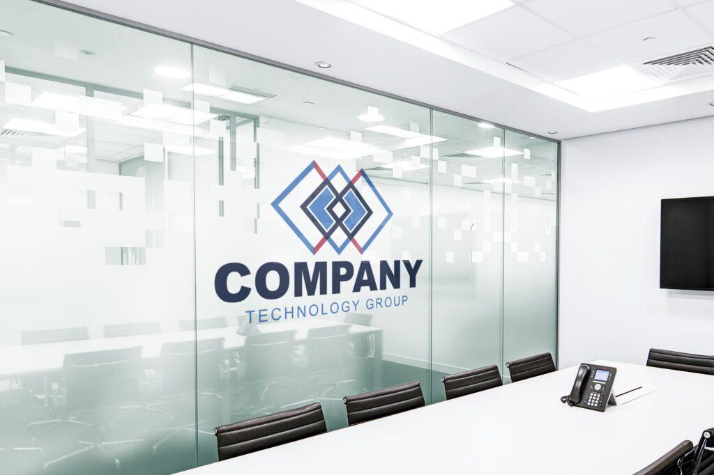 online-logo-on-office-wall-mockup-generator-online-template