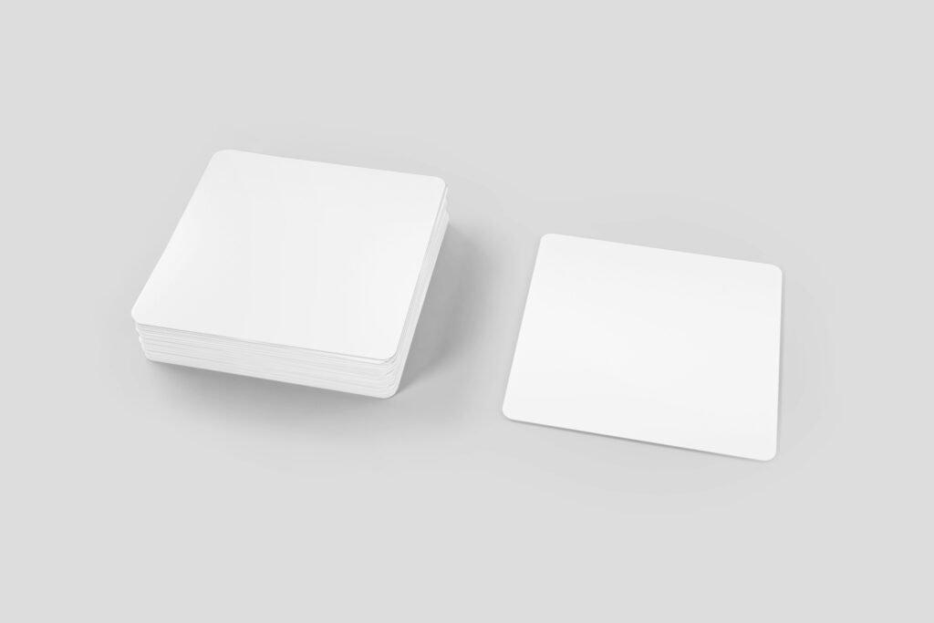 square-stickers-3D-stack-online-sticker-mockup-generator-free-template-PNG-blank