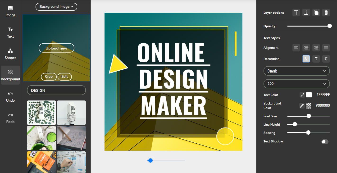 free online design maker and free design templates