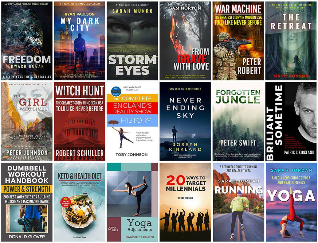 free online book cover designs