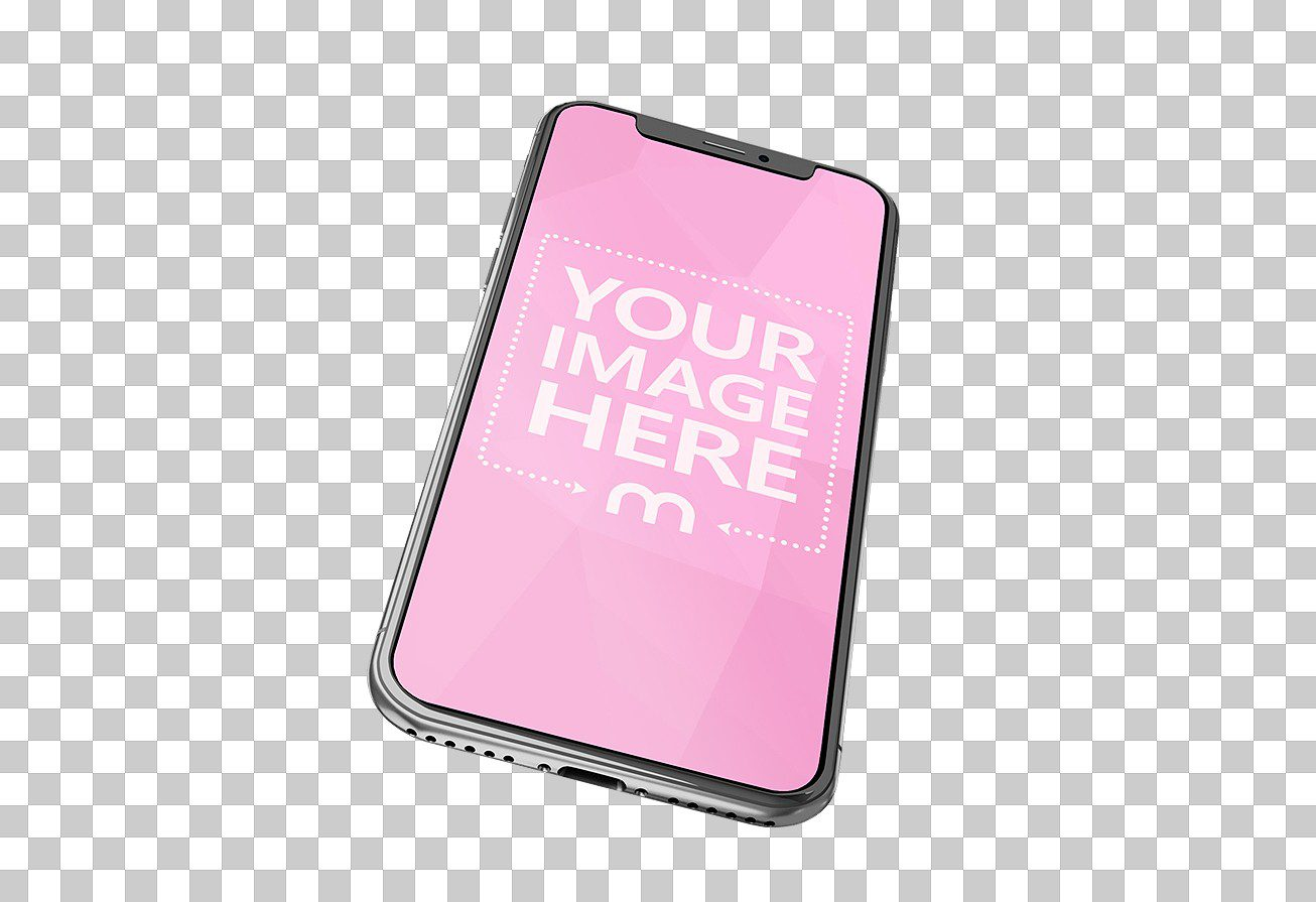 3D transparent and PNG iphone mockup maker