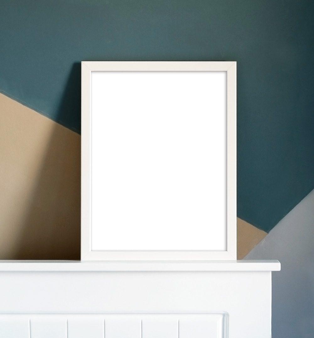 Mockup frame wood Frame mockup Neutral toned frame mockup Mockup frame wall frame mockup Realistic home frame mockup Wood frame mockup