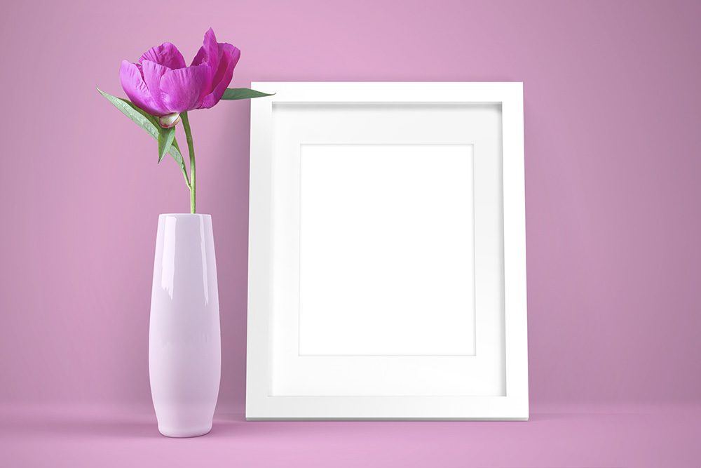 08-photo-frame-flower-mockup-generator