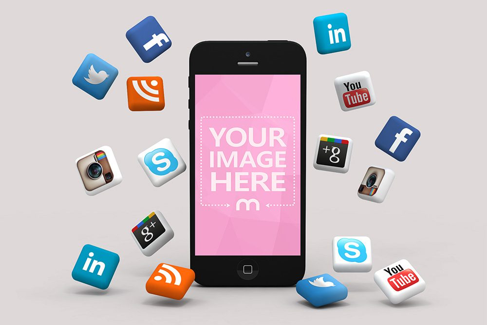 10-social-media-iphone-mockup-3d-icons