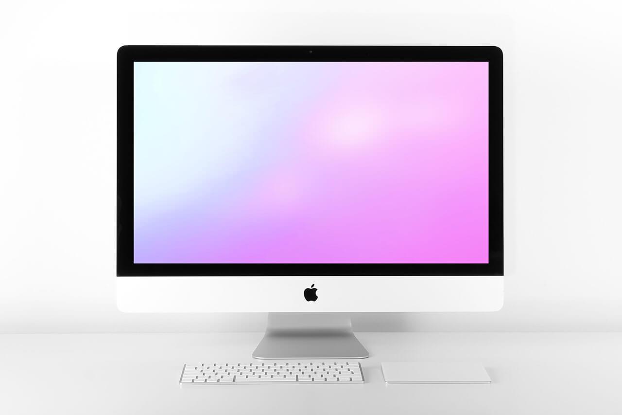 iMac photoshop Mockups