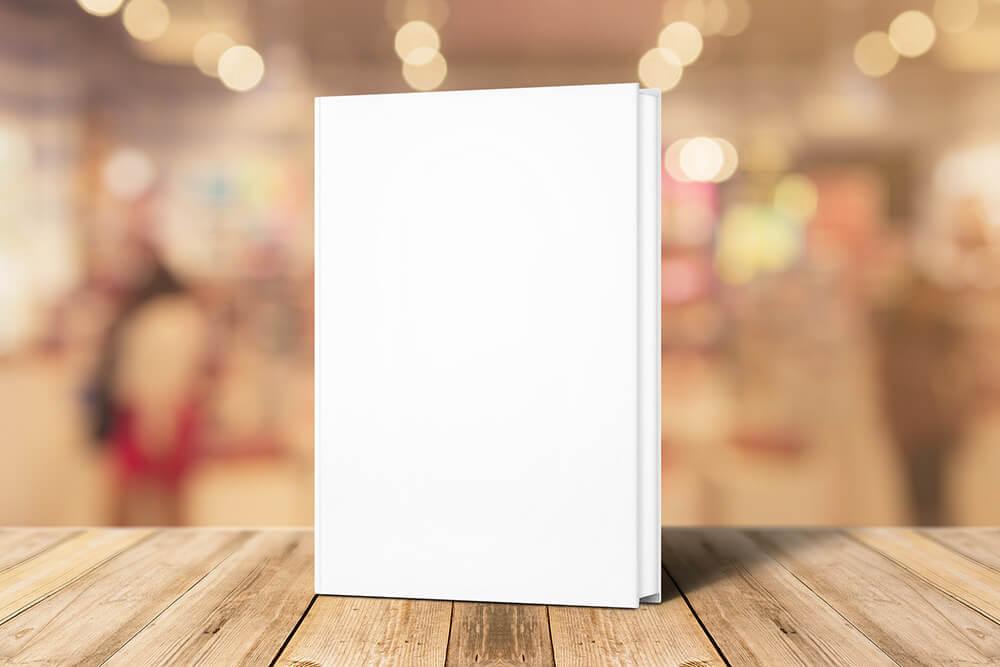 12-book-on-wood-stage-mockup