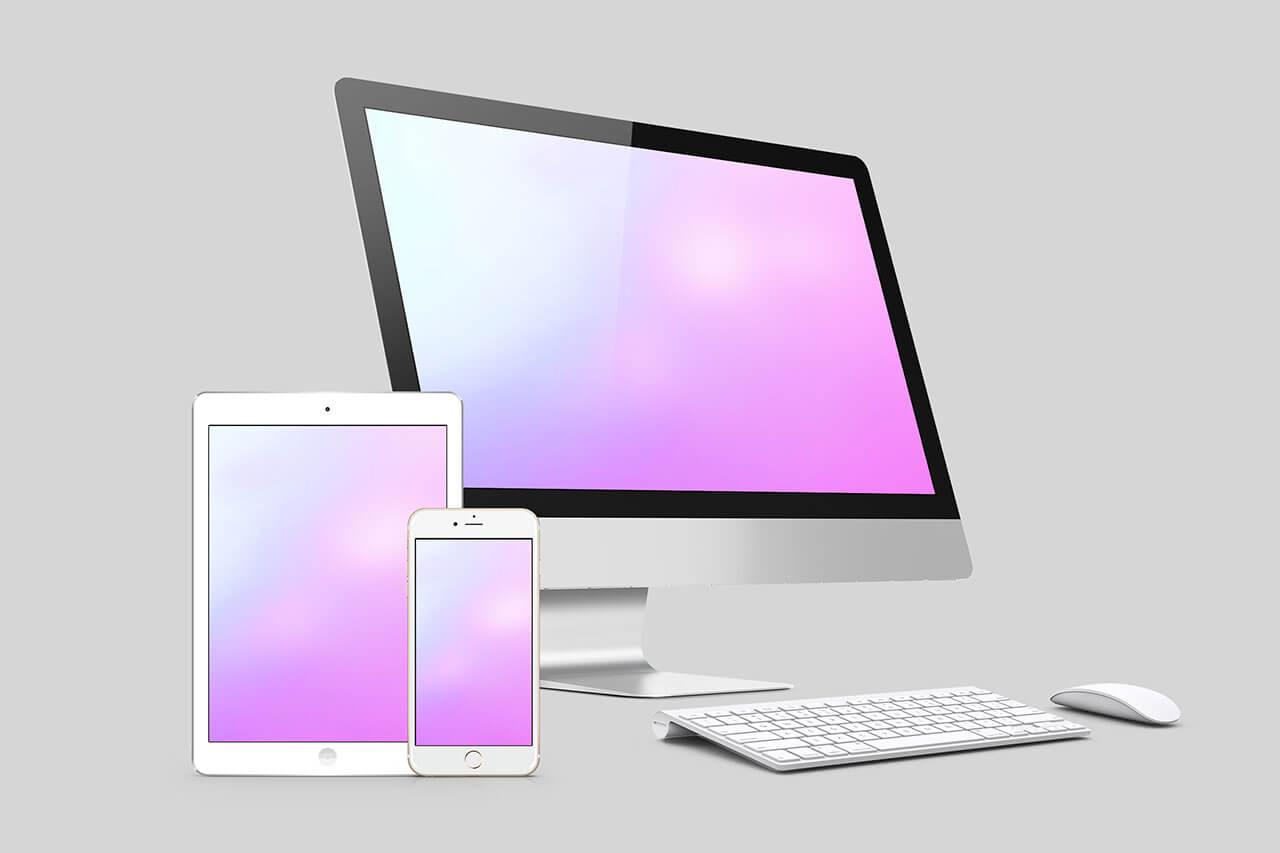 2-IOS-multi-screen-website-mockup-with-imac
