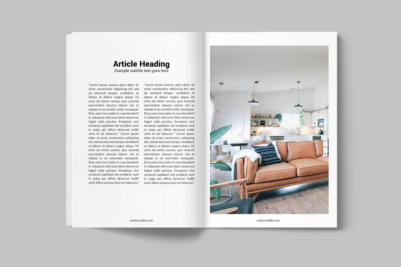 Diseño de revistas: 20-open-magazine-pages-mockup-of-inside-psd