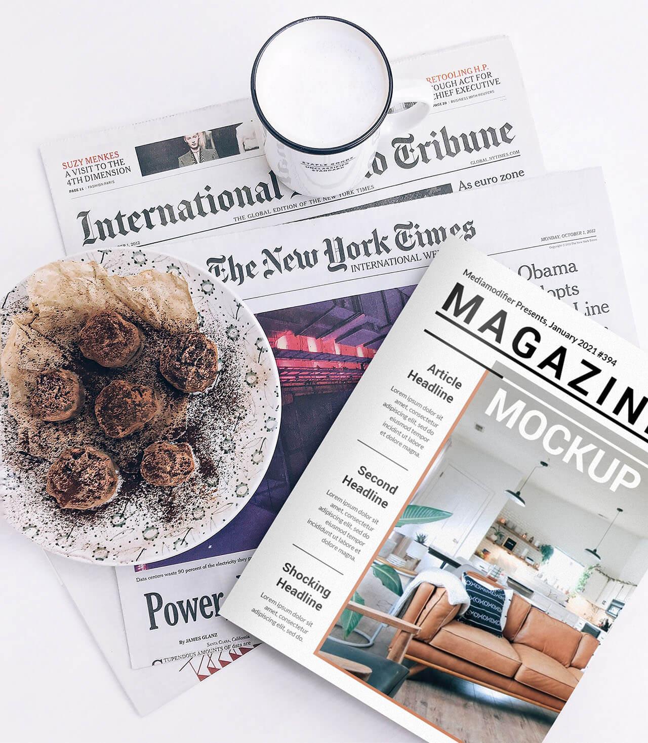 Diseño de revistas: 21-duelo-periódico-y-maqueta-revista