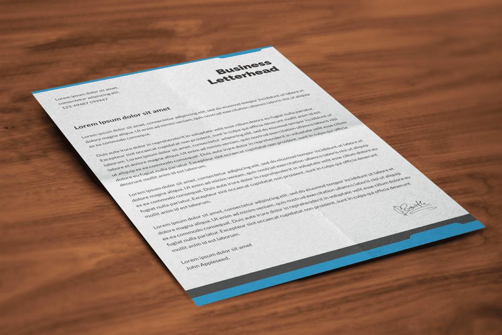 22-closeup-mockup-of-a-business-letterhead