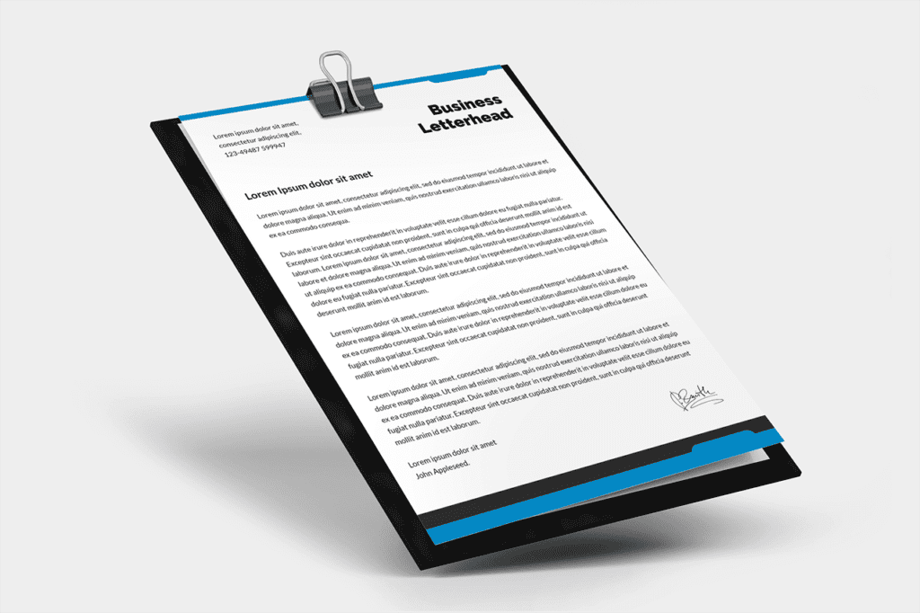 24-3d-paper-on-clipboard-letterhead-a4-mockup-psd-template