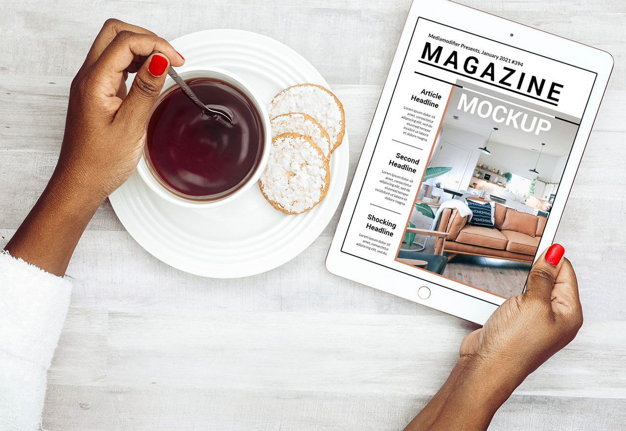 Diseño de revistas: 25-digital-ipad-magazine-cover-mockup-psd-template