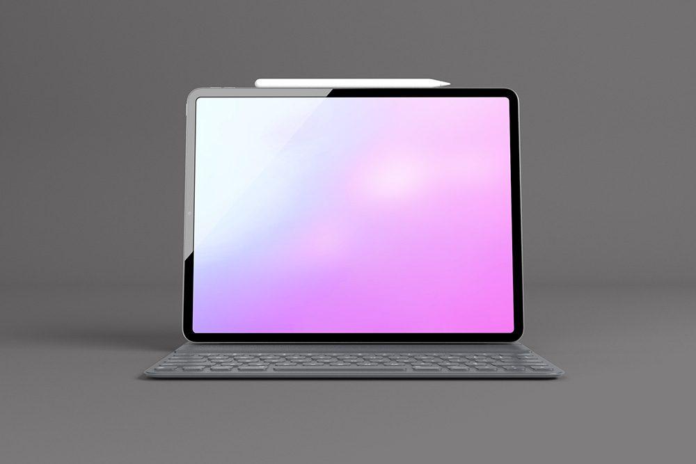 25-ipad-pro-with-keyboard-mockup