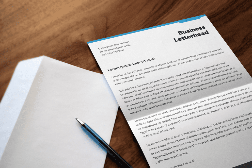 27-photoshop-mockup-featuring-a-folded-letter