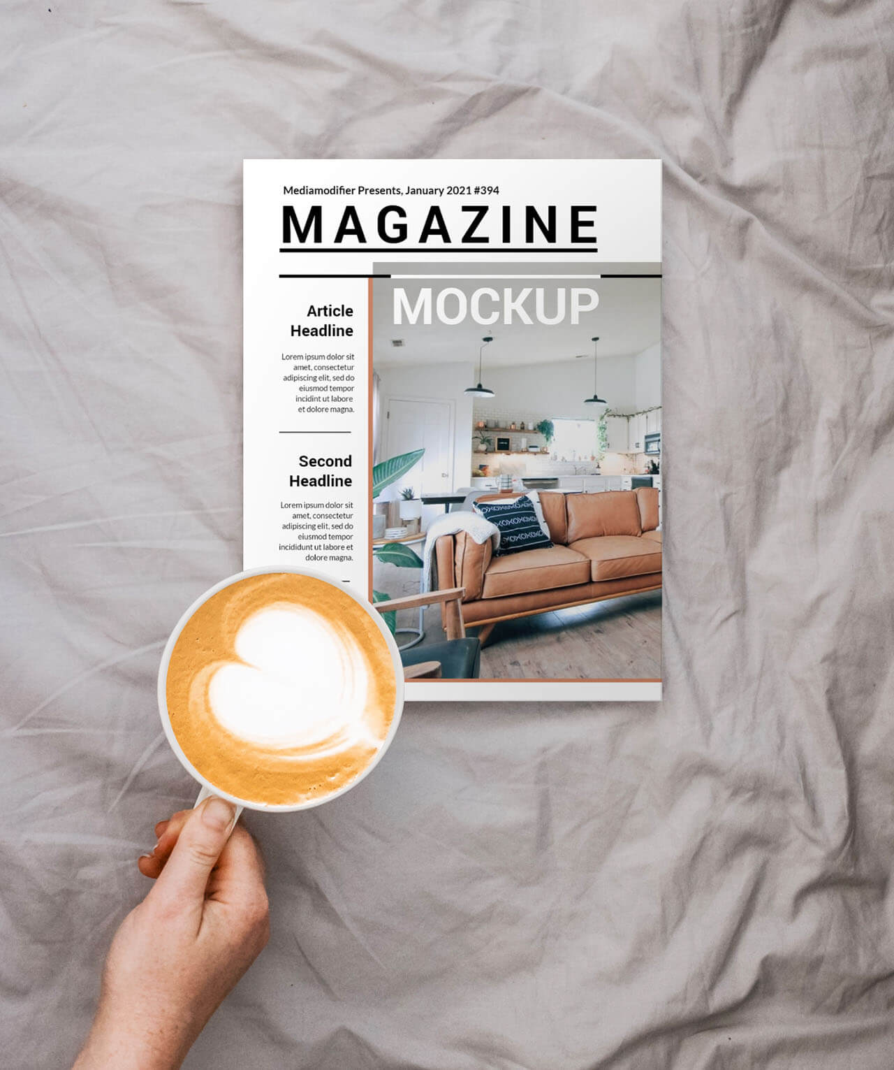Diseño de revistas: 29-magazine-cover-on-bed-mockup-photoshop