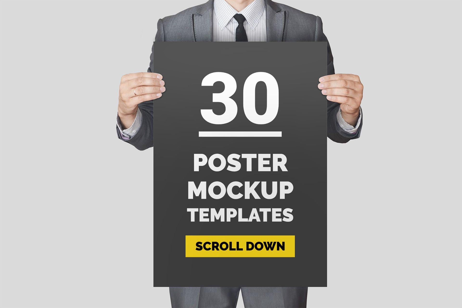 30-poster-mockup-templates