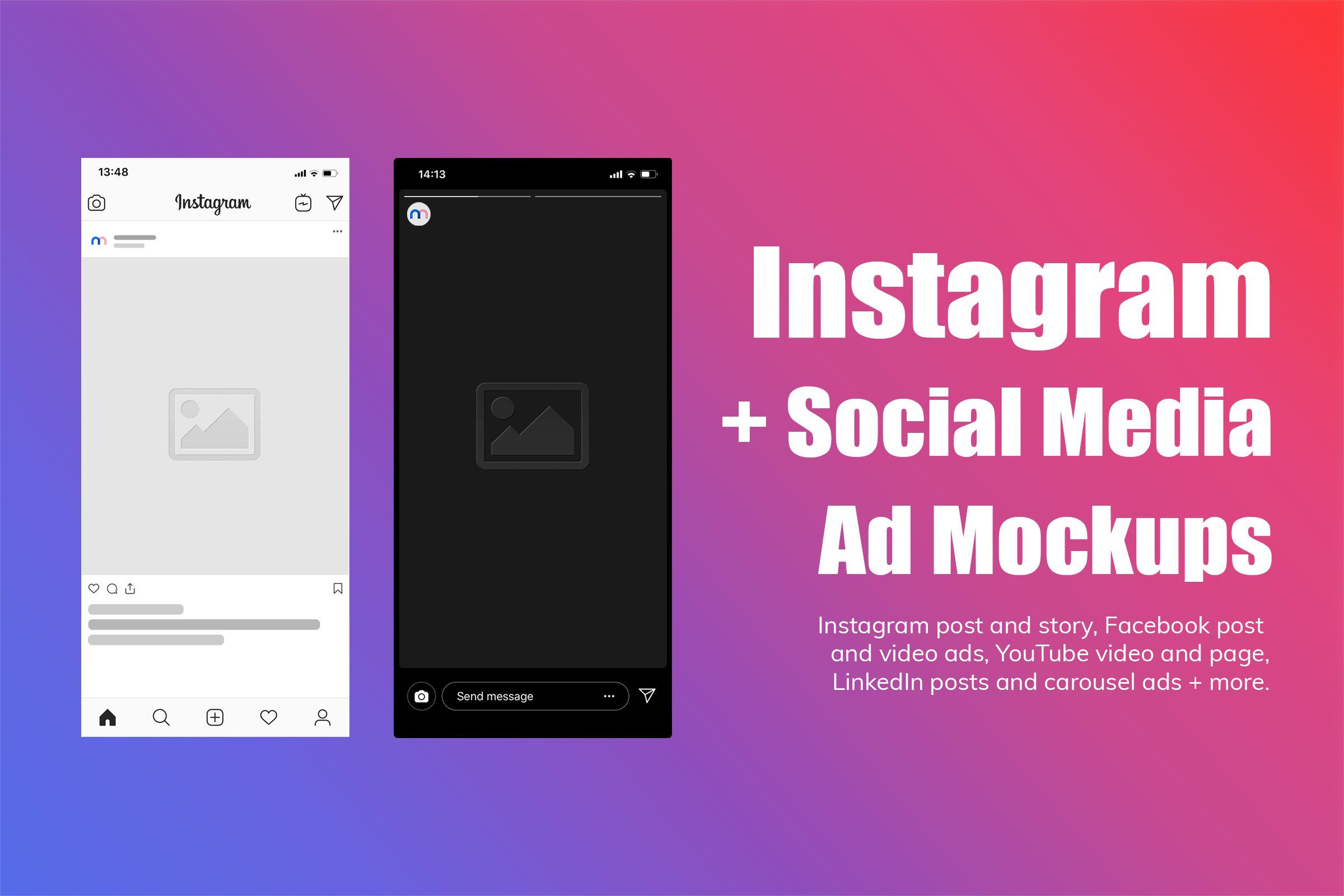Instagram Mockups