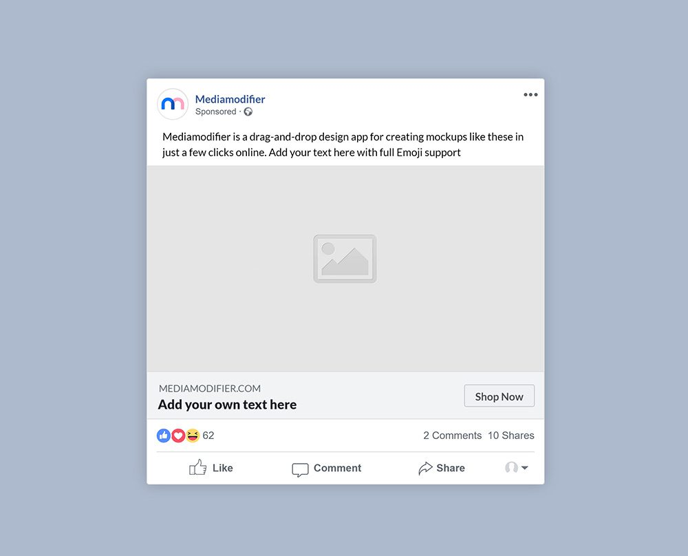 11-facebook-sponsored-post-mockup-psd-template