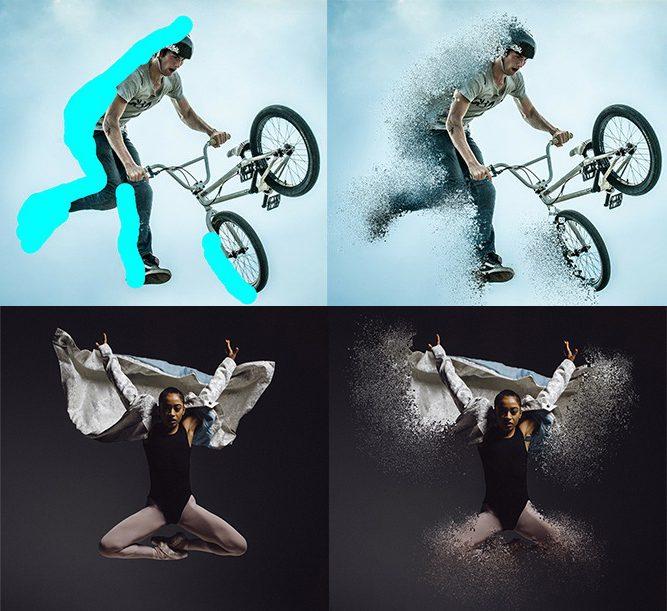 online image dispersion effect maker