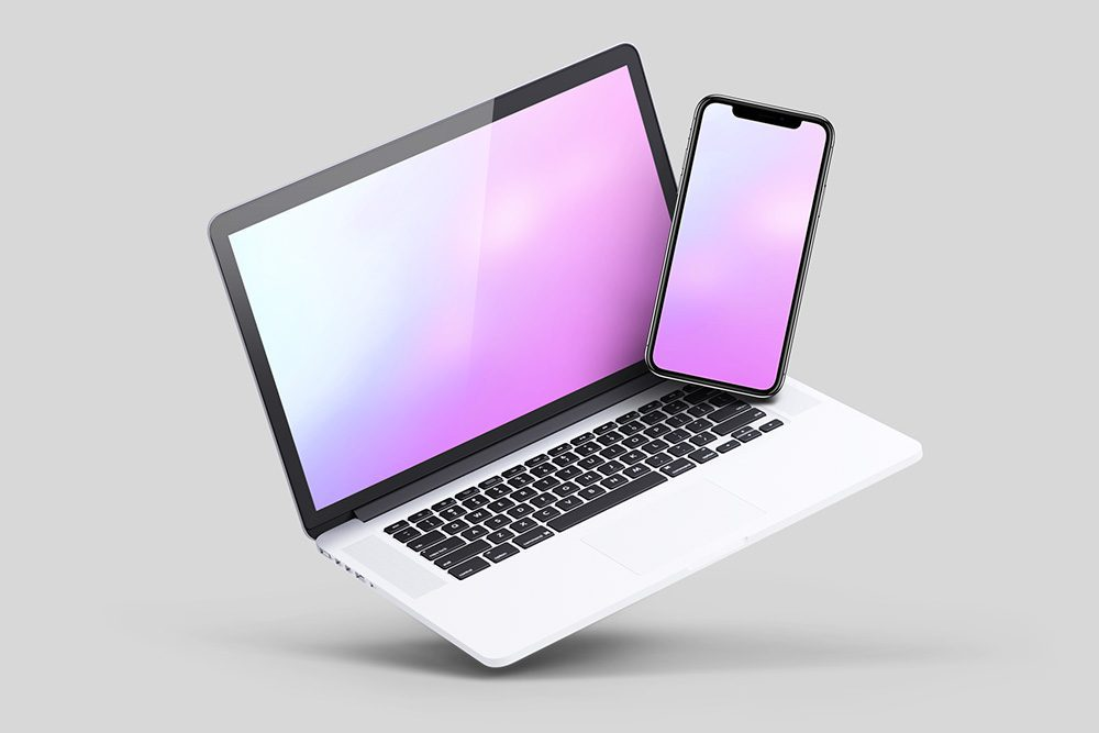16-zero-gravity-3d-laptop-iphone-mockup