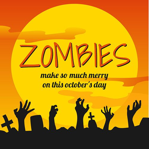 07-zombis-sunset-dead-halloween-greeting-banner