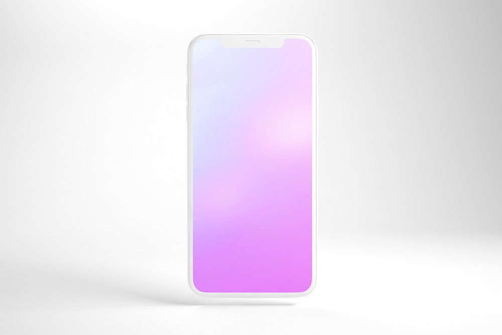 01-front-view-clay-iphone-psd-mockup