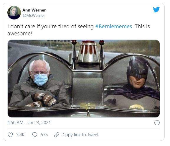 bernie meme funny batman
