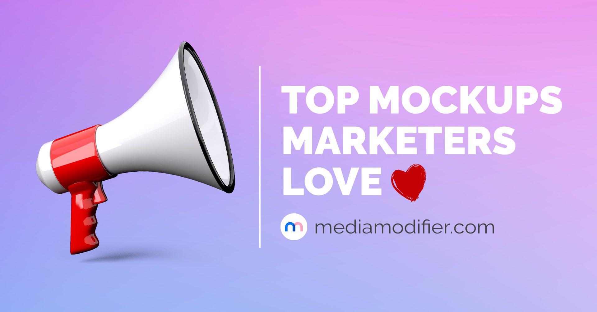 best mockups for marketing
