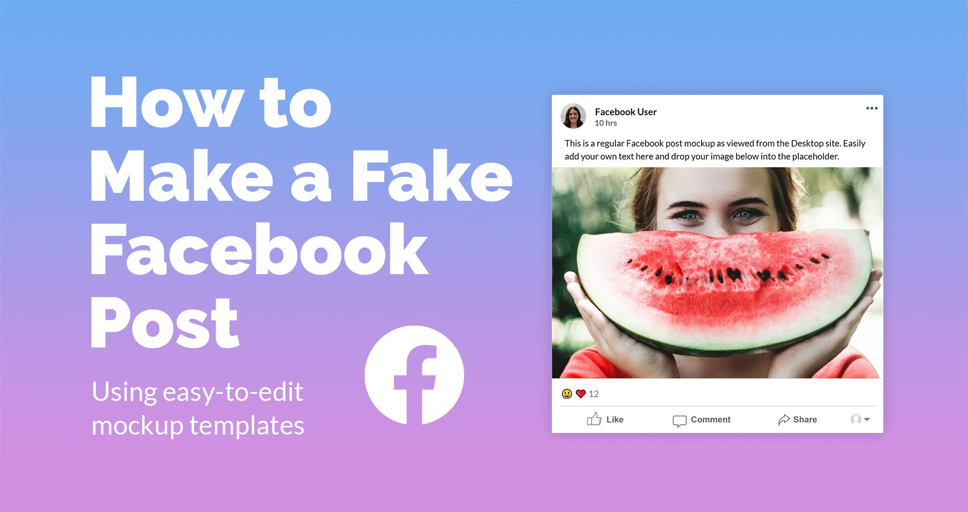 how-to-make-a-fake-facebook-post