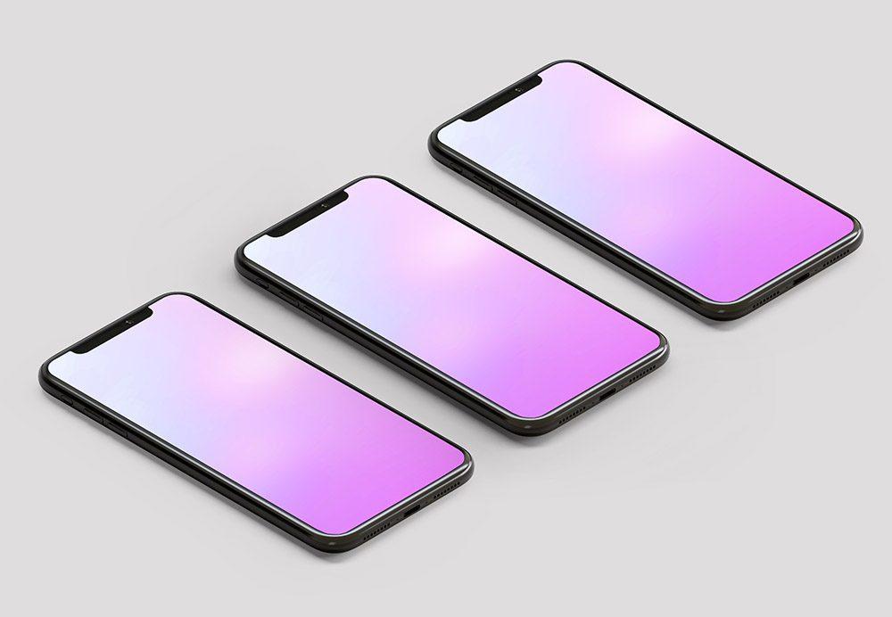 iphine-triple-screen-app-mockup