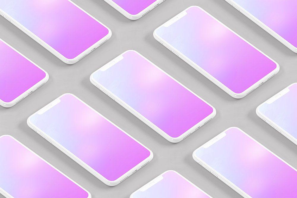 iphone-app-pattern-screen-3d-isometric-tiles-mockup