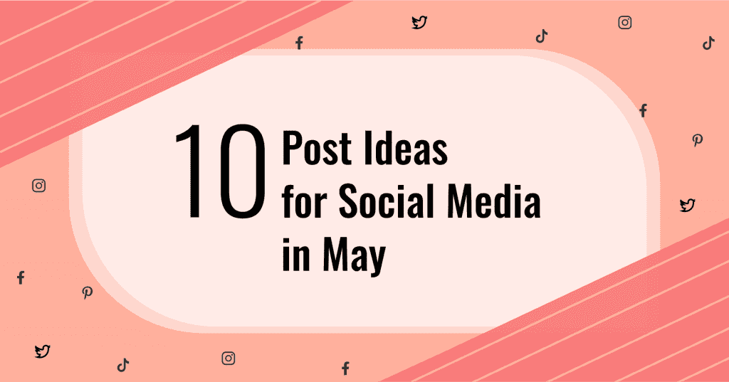 what to post on social media in may cover image